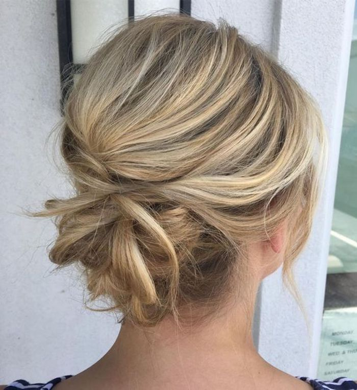 LOOSE UPDOS_Simple and stunning wedding hairstyles you'll love 5
