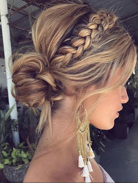 Beautiful braided wedding hairstyles_braided updo 14