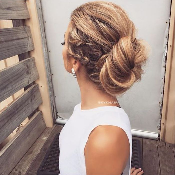 Beautiful braided wedding hairstyles_braided updo 4