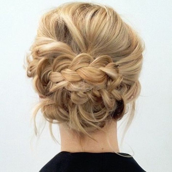 Beautiful braided wedding hairstyles_braided updo 5
