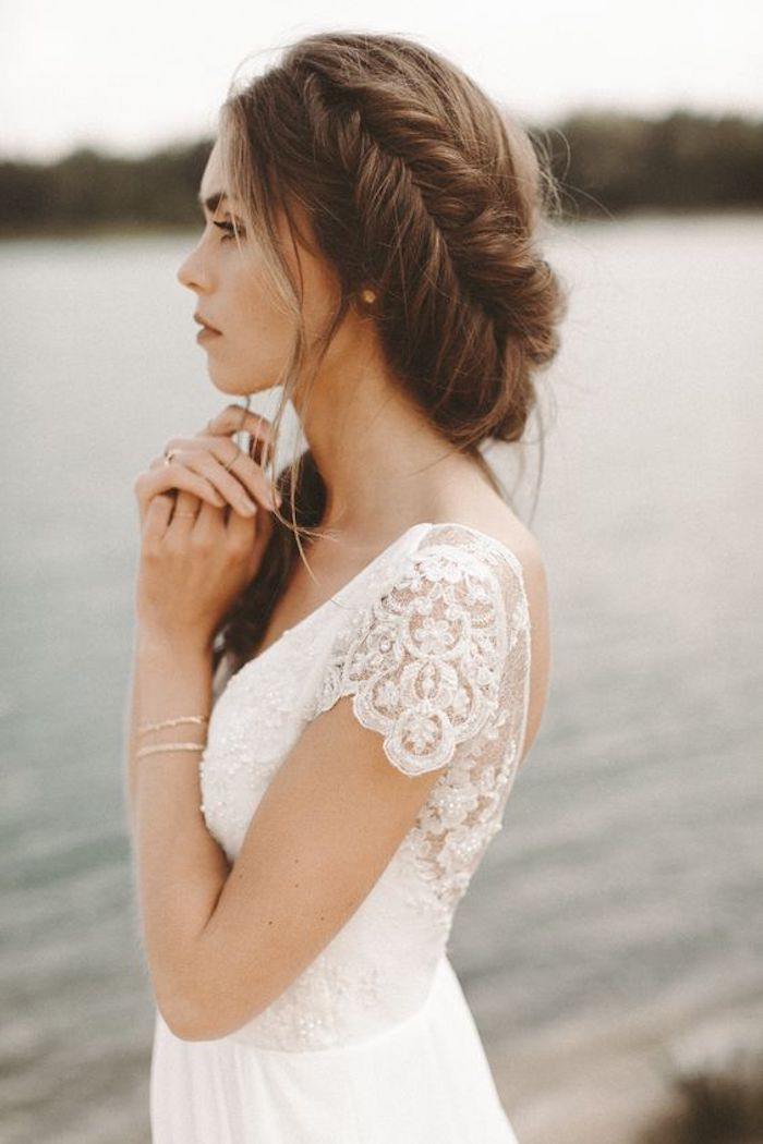Beautiful braided wedding hairstyles_bridal ponytail 4