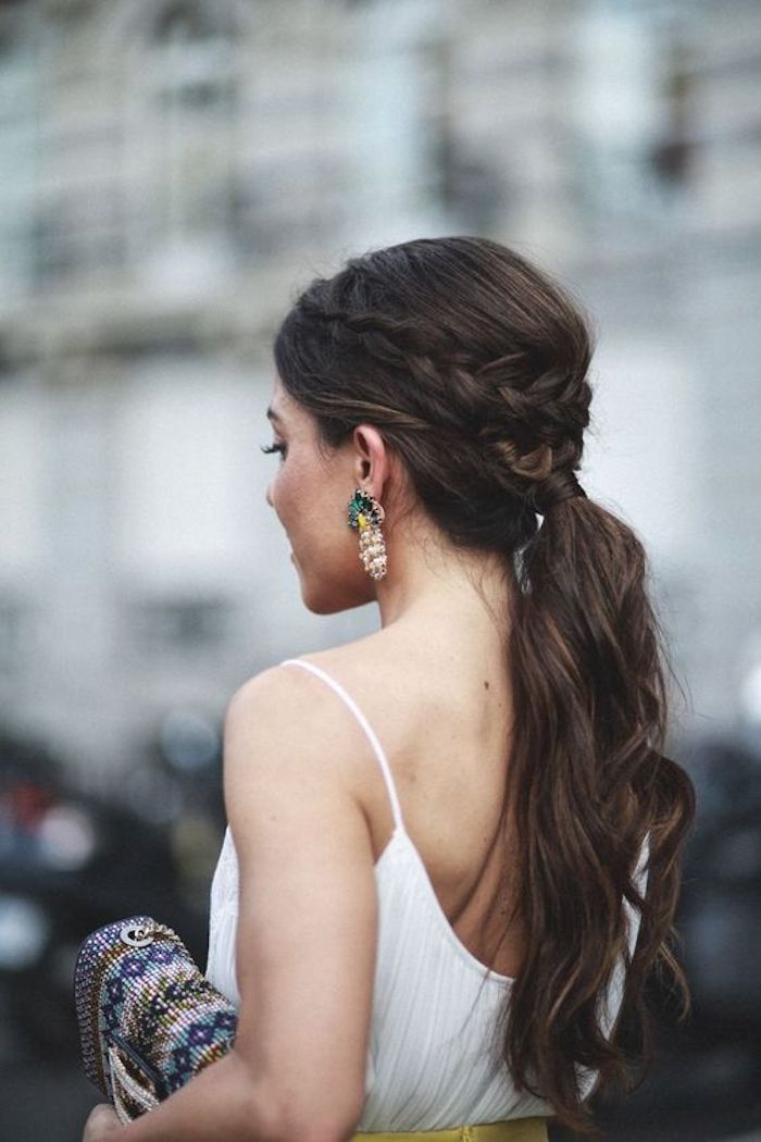 Beautiful braided wedding hairstyles_bridal ponytail 7