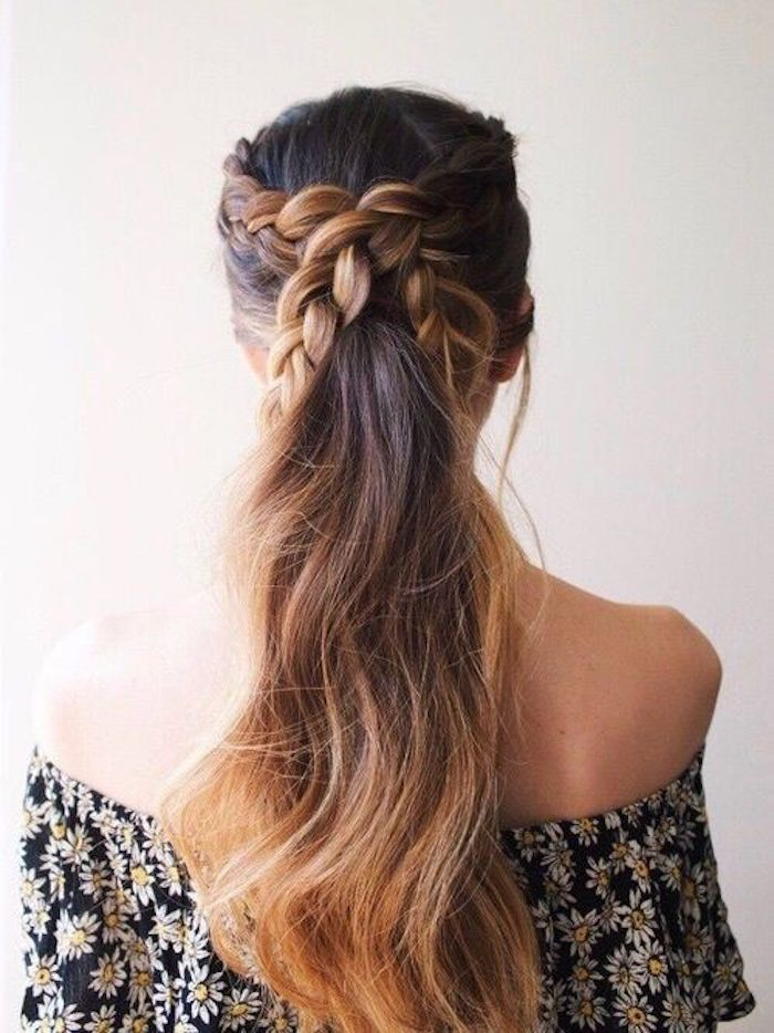 Beautiful braided wedding hairstyles_bridal ponytail 9