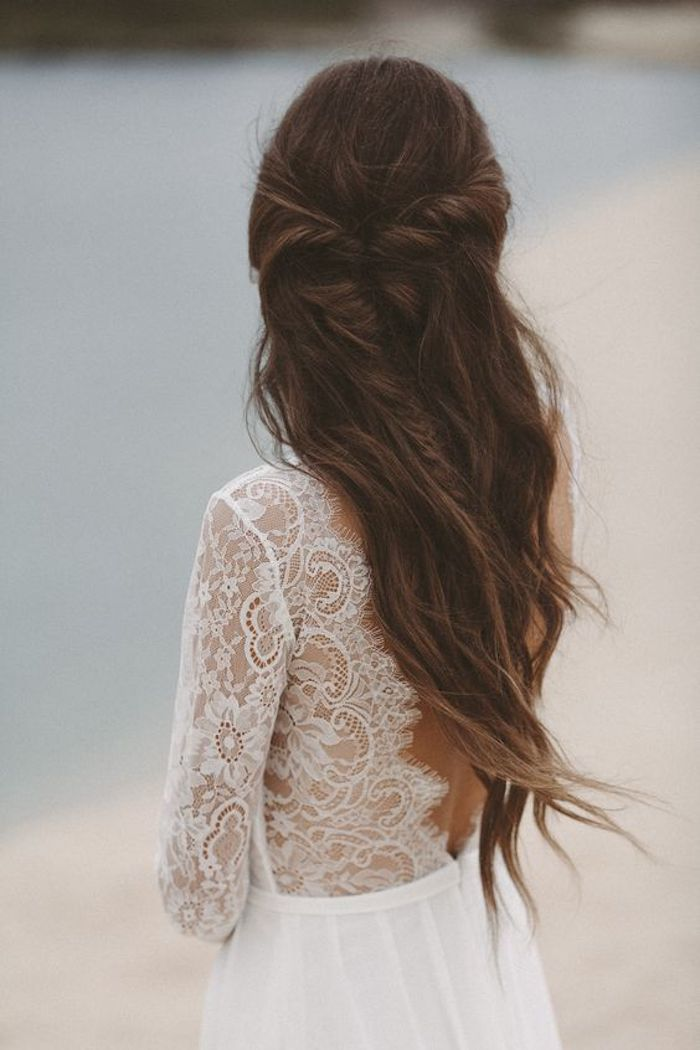 Beautiful braided wedding hairstyles_half up hairstyles 2