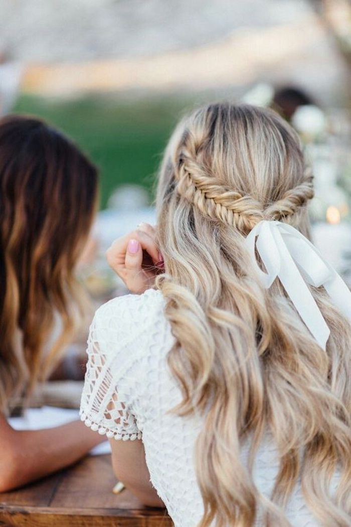 Beautiful braided wedding hairstyles_half up hairstyles 4