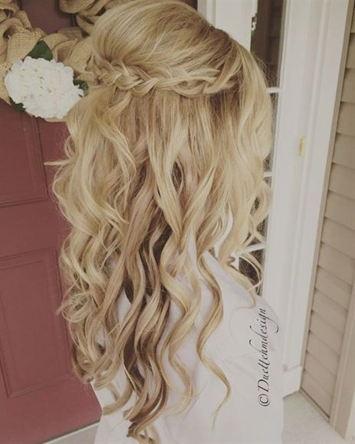 Beautiful braided wedding hairstyles_half up hairstyles 6