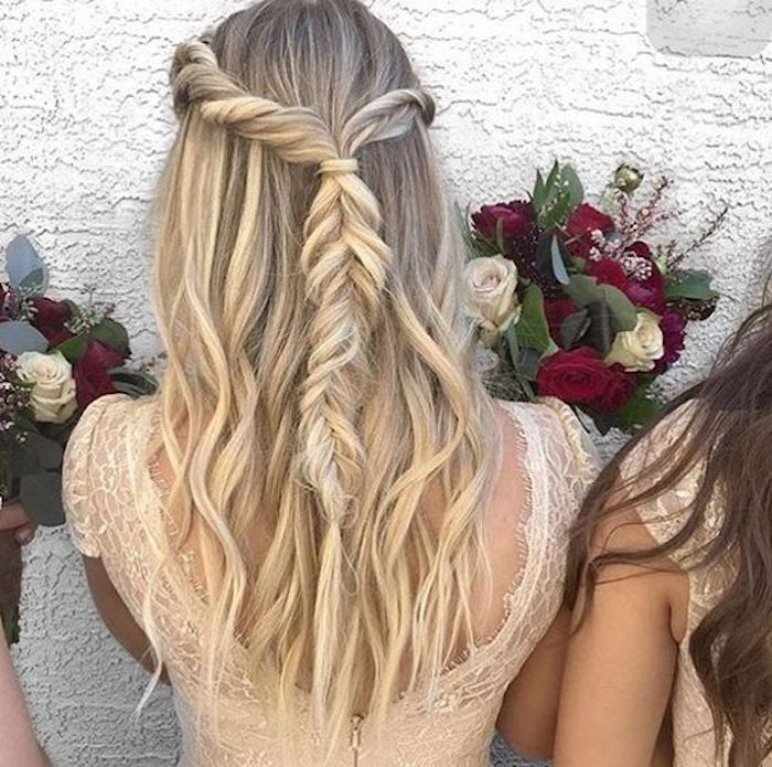 Beautiful braided wedding hairstyles_half up hairstyles 9