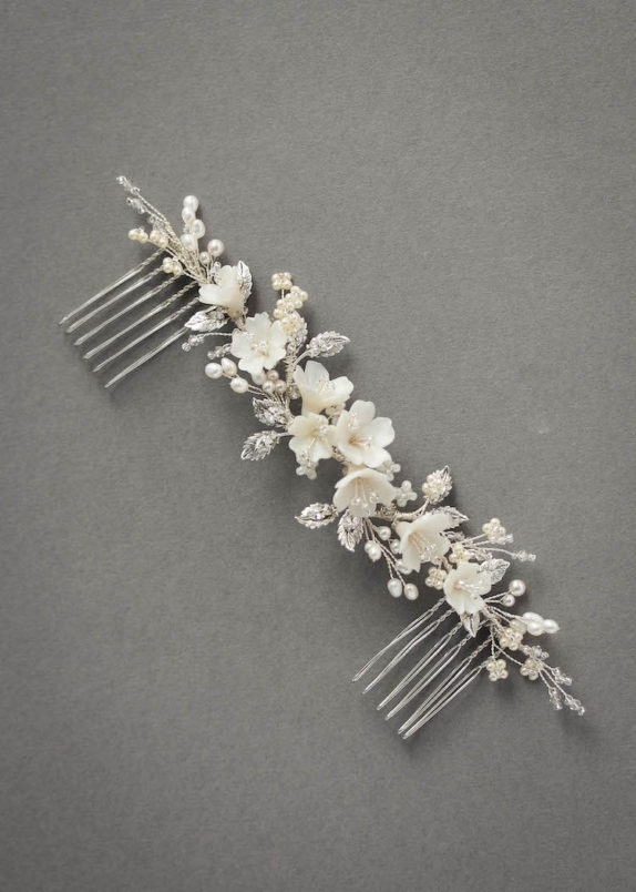 ODE TO DUSK_ivory floral hair piece 3