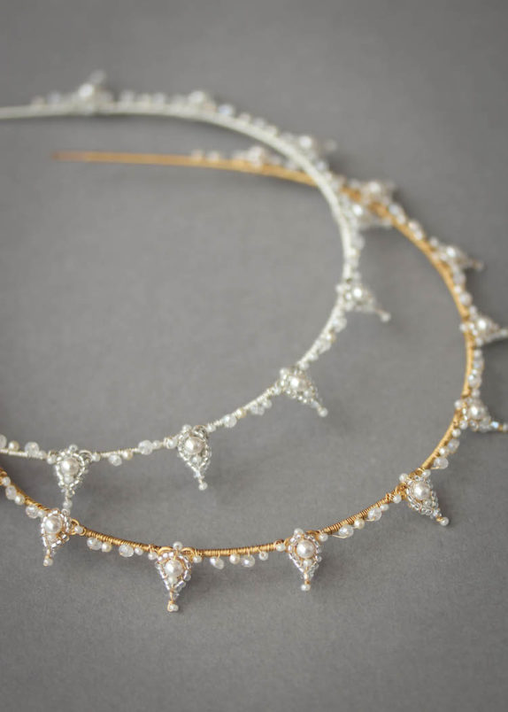 HENRI bridal crowns