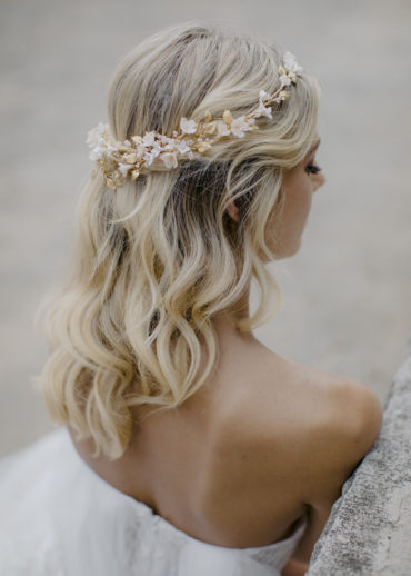 ANA ROSA floral wedding headpiece 1