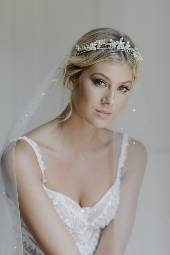 CASHMERE crystal wedding tiara 8