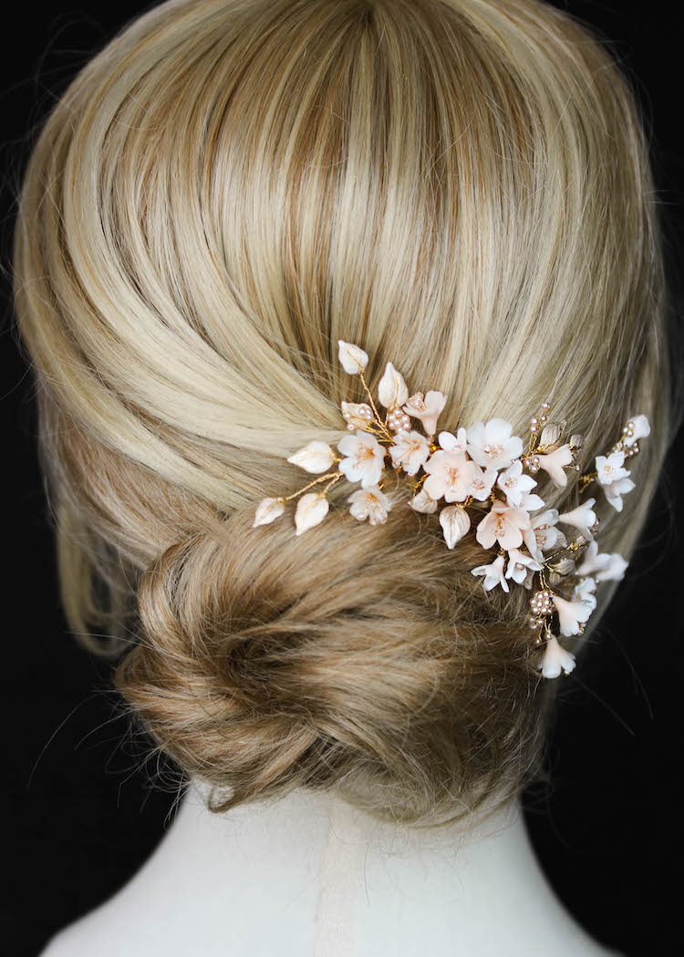 CHERRY BLOSSOM wedding hair pieces 2