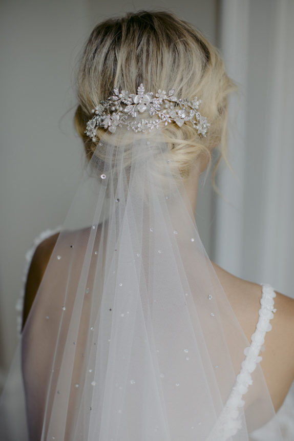 EVENING crystal wedding headpiece 1