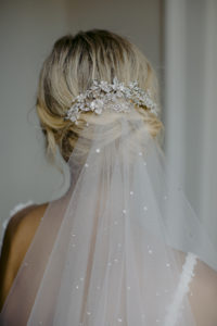 EVENING crystal wedding headpiece 8