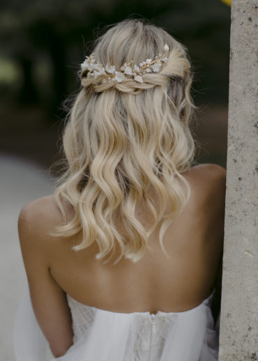 LYRIC floral bridal headpiece 1