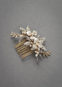 TROUSSEAU wedding hair comb 6