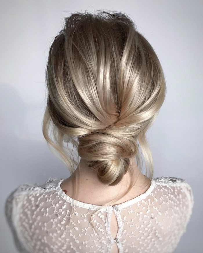 Wedding hair trends for 2019_textured twists 1