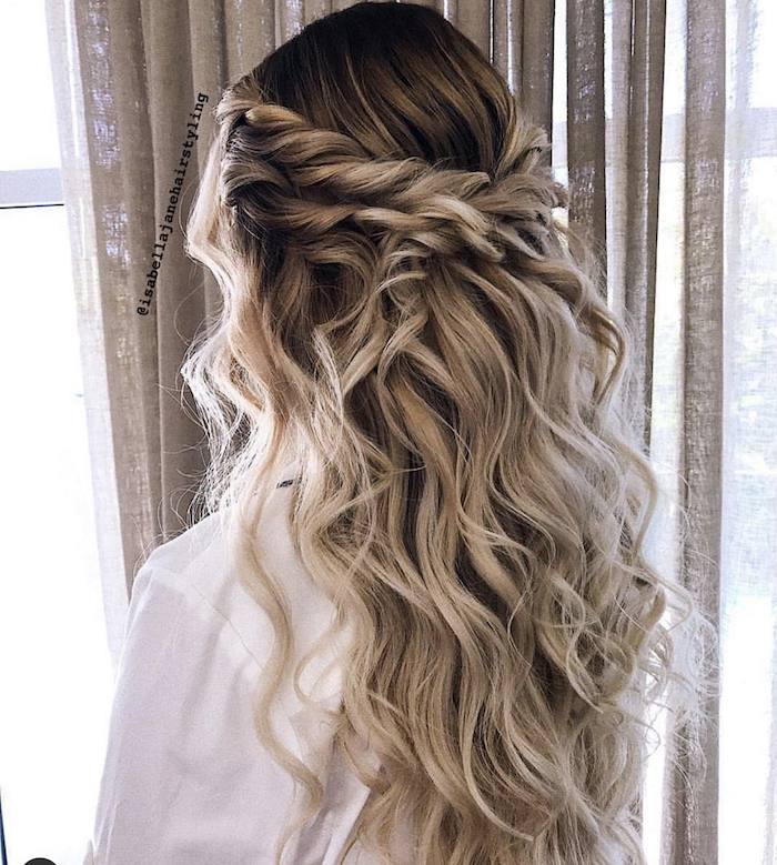 Wedding hair trends for 2019_textured twists 5