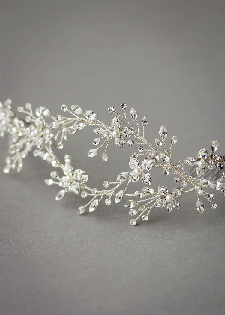 To the Moon and Back_Bespoke for Frances_silver crystal hair piece 5