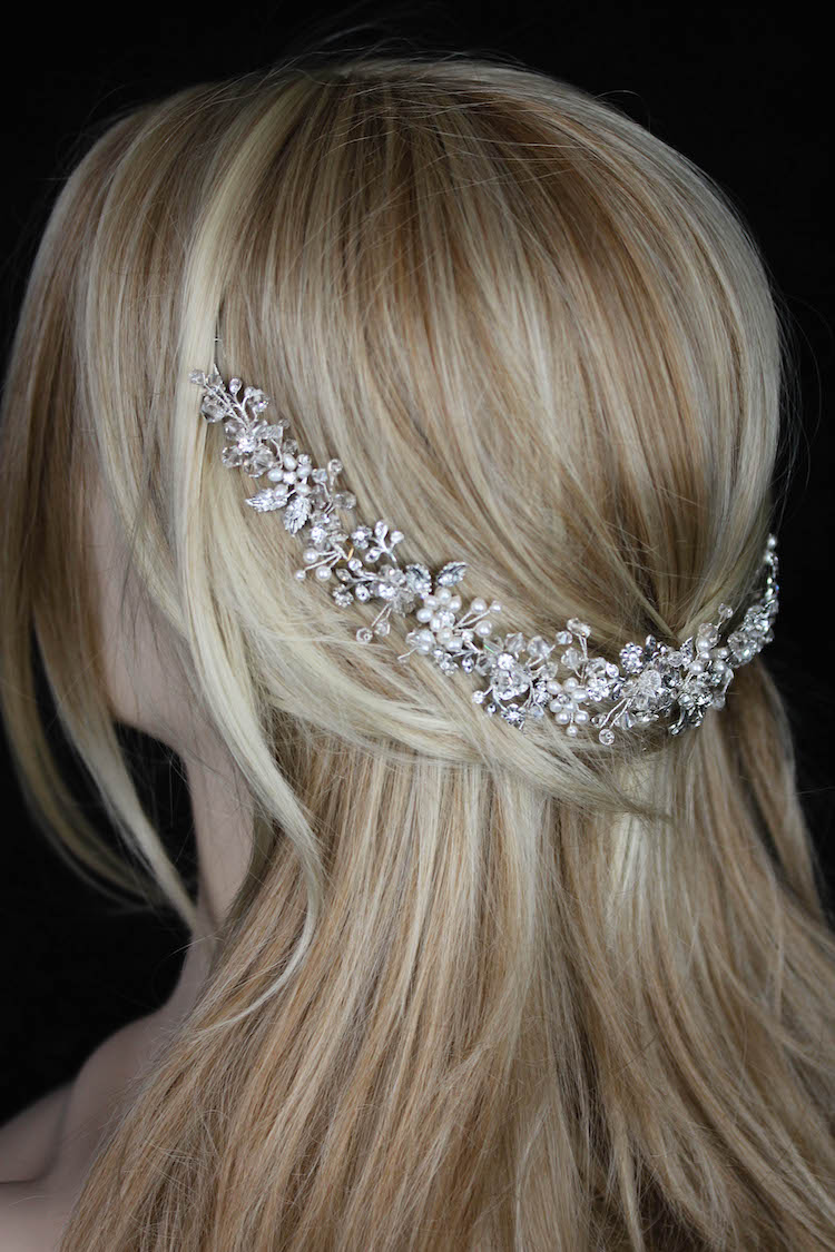 LADY LUXE_A crystal wedding headband for bride Jessica 6