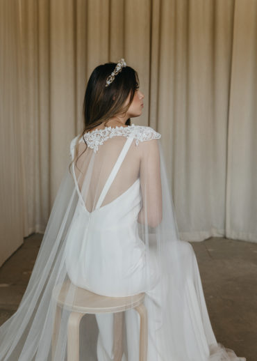 ESMERALDA bridal cape 1
