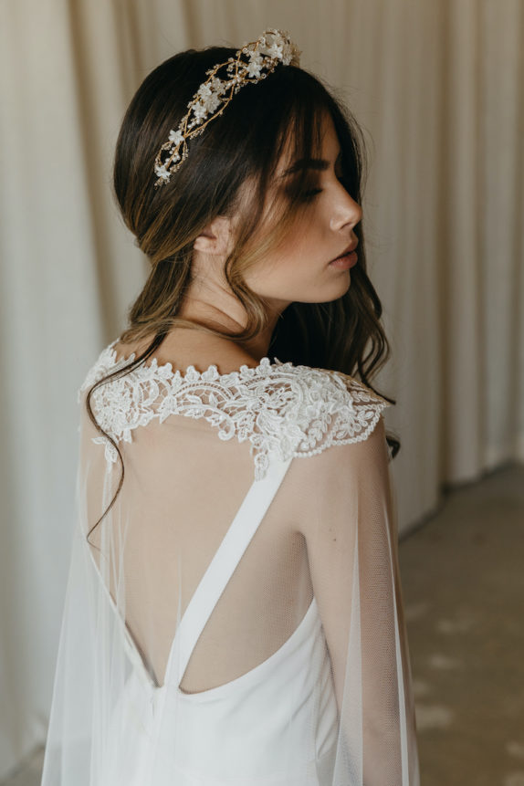 ESMERALDA bridal cape 11