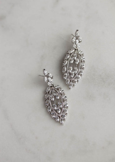 MADRID art deco bridal earrings 4