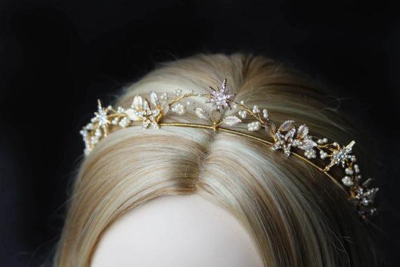 STARRY NIGHT_crystal wedding crown 4