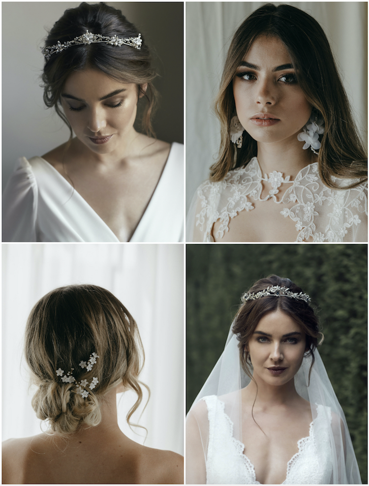 The essential guide to 2020 wedding hair_middle part