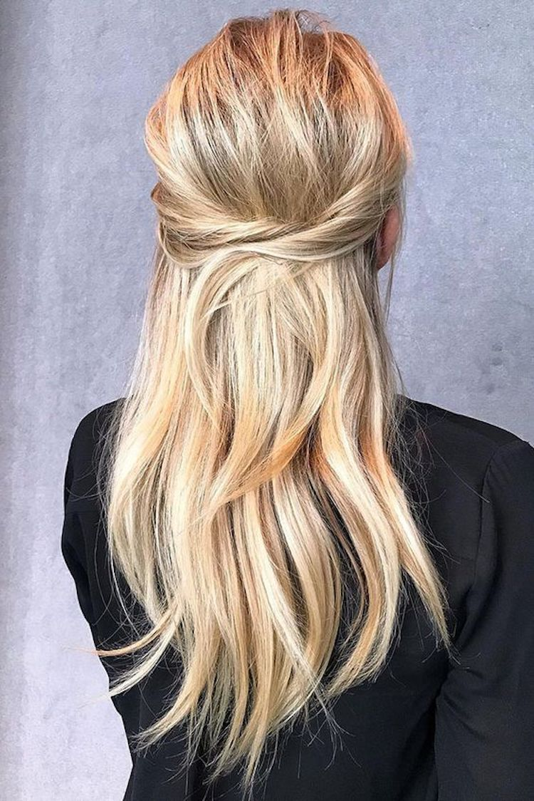 The essential guide to 2020 wedding hair_straight wedding hair 11