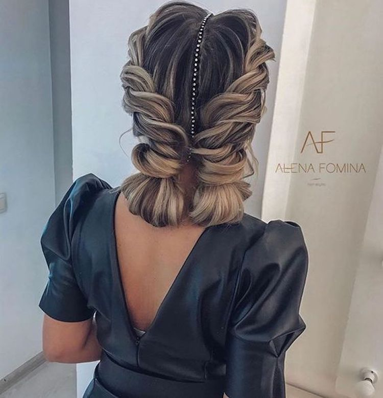 The essential guide to 2020 wedding hair_textured updo 4