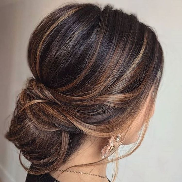 The essential guide to 2020 wedding hair_textured updo 5