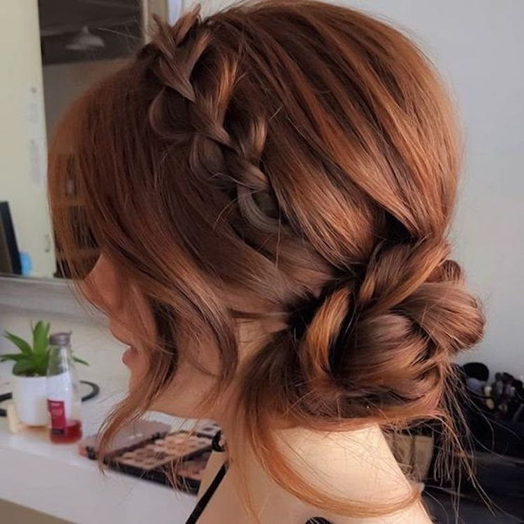 The essential guide to 2020 wedding hair_textured updo 6