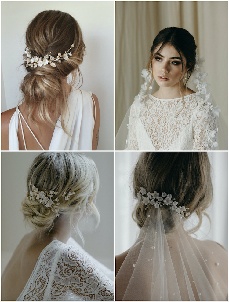 The essential guide to 2020 wedding hair_textured updo