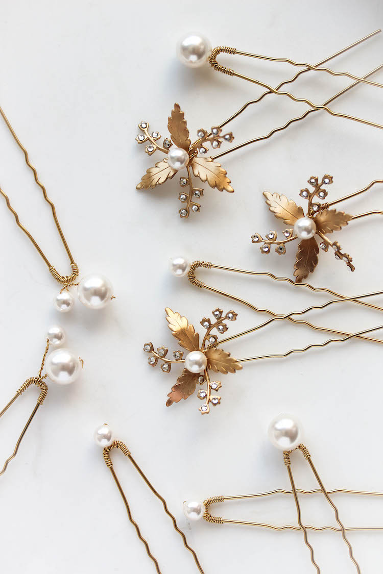 11 Celestial inspired wedding accessories_Arden hair pins 2