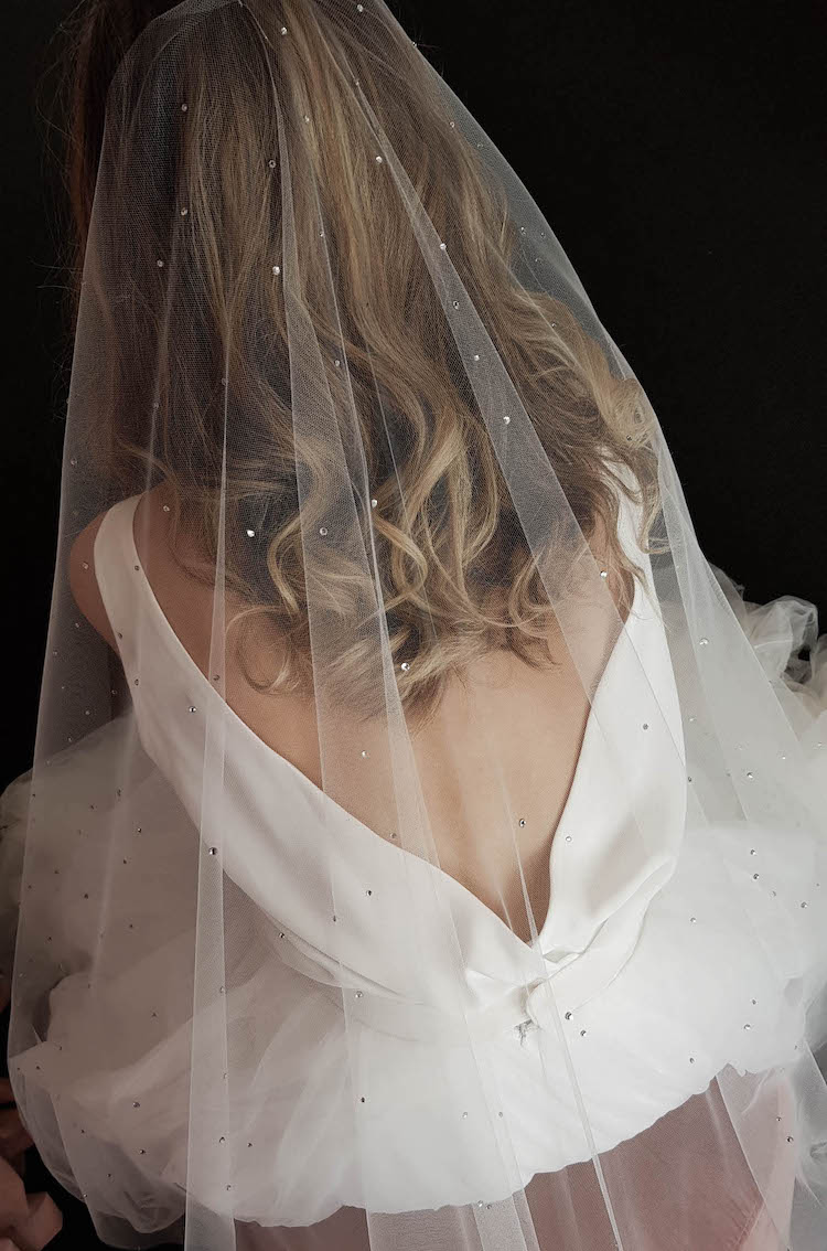11 Celestial inspired wedding accessories_Dewberry veil