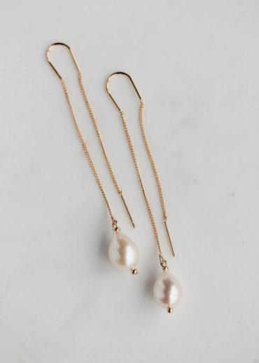 TEARDROP pearl earrings 1