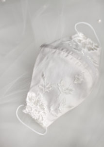 VERA silk wedding face mask 8