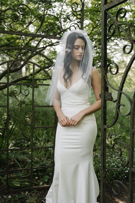 AVA elbow length veil 10