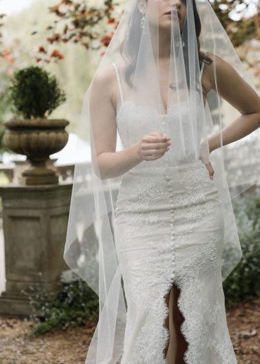 MIRA | Classic blusher veil 1
