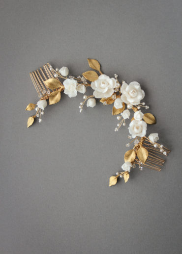 SPIRIT floral bridal headpiece 1